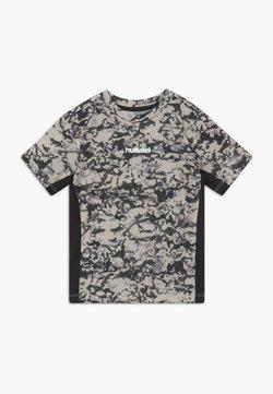Hummel - NOAH - T-shirt print - light grey
