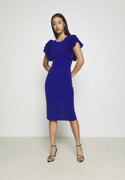 WAL G. - KENSLEY RUFFLE SLEEVE DRESS - Sukienka letnia - electric blue