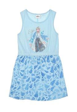 Disney FROZEN - ELSA  - Jerseykleid - blau