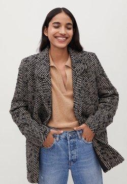 Mango - FOXI - Short coat - schwarz