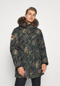 Superdry - EVEREST  - Wintermantel - green