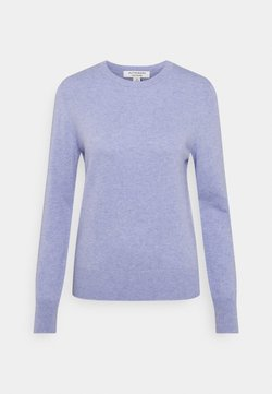 Marks & Spencer London - CREW - Stickad tröja - light blue