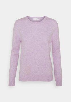 pure cashmere - CLASSIC CREW NECK  - Strikpullover /Striktrøjer - lavender
