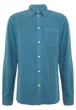 Nudie Jeans - CHUCK - Skjorta - petrol blue