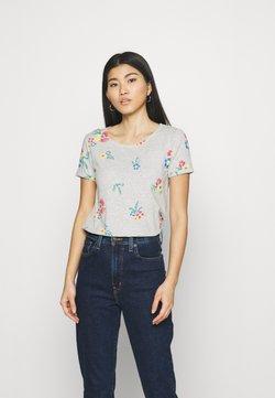 Anna Field - T-Shirt print - mottled grey