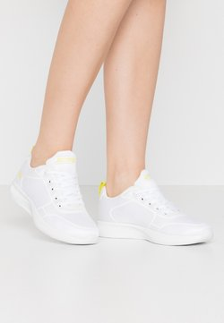 Skechers Sport - BOBS SQUAD 2 - Sneakers laag - white/yellow