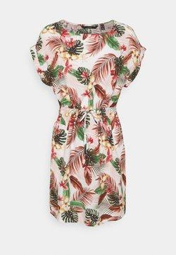 Vero Moda Petite - VMSIMPLY EASY TIE SHORT DRESS - Korte jurk - birch