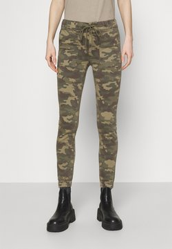 American Eagle - JEGGING - Verryttelyhousut - green