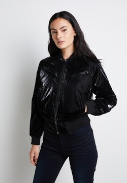 G-Star - ZIP POCKET CROPPED - Giubbotto Bomber - pearl black