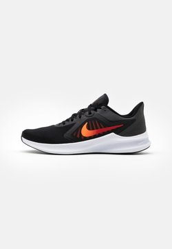 Nike Performance - DOWNSHIFTER 10 - Chaussures de running neutres - black/total orange/gym red