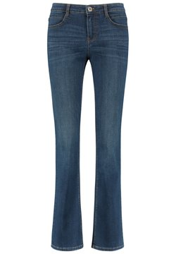 Taifun - Flared Jeans - blue denim