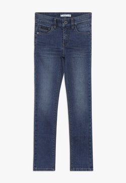 Name it - NKMTHEO PANT - Jeans baggy - medium blue denim