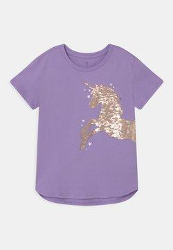 GAP - GIRL - T-Shirt print - lilac