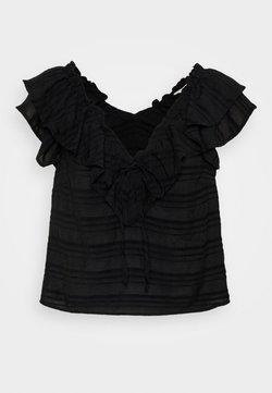 Object - OBJRAFIA  - Bluse - black