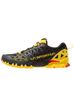 La Sportiva - BUSHIDO II - Zapatillas de trail running - black/yellow