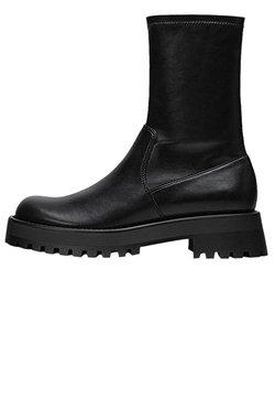 Stradivarius - Ankle Boot - black