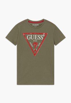 Guess - CORE JUNIOR  - T-shirt z nadrukiem - sand dollar