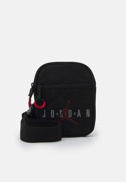 Jordan - JAN AIR FESTIVAL CROSSBODY BAG UNISEX - Sac bandoulière - black