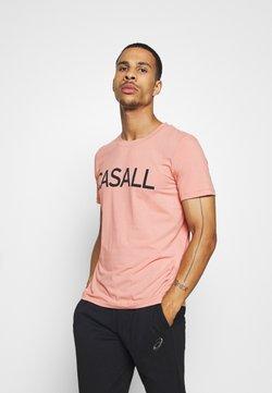 Casall - LOGO TEE - Printtipaita - trust pink