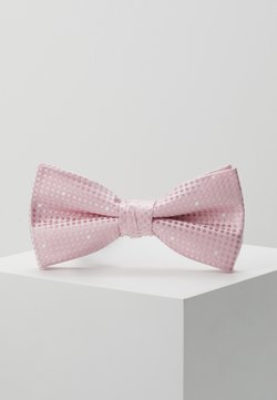 Jack & Jones - JACSANTANDER BOW TIE - Fliege - candy pink/white