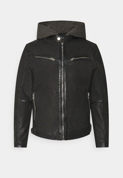 Gipsy - RICO  - Leren jas - black