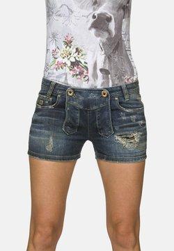 Stockerpoint - Jeans Shorts - flintstone aged