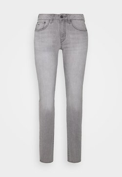 G-Star - 3301 MID SKINNY - Jeans Skinny Fit - sun faded pewter grey