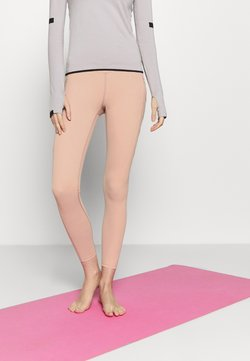 Free People - ON CLOUD NINE LEGGING - Medias - rose