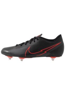 Nike Performance - VAPOR 13 CLUB SG - Korki wkręty - black/dark smoke grey