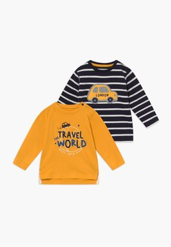 Staccato - 2 PACK - T-shirt à manches longues - dark blue / yellow