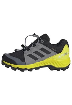 adidas Performance - TERREX GTX UNISEX - Vaelluskengät - core black/grey three/acid yellow