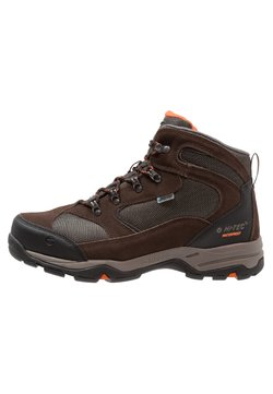 Hi-Tec - STORM WP - Outdoorschoenen - dark chocolate/dark taupe/burnt orange