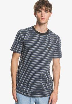 Quiksilver - TABIRASSTEE - T-Shirt print - blue night