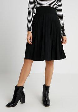 Anna Field Petite - A-linjainen hame - black