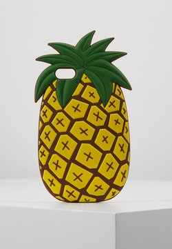Mister Tee - PHONECASE PINEAPPLE I PHONE 6/7/8 - Etui na telefon - yellow