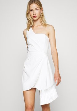 Forever New - ASSYMETRIC MINI - Cocktail dress / Party dress - porcelain