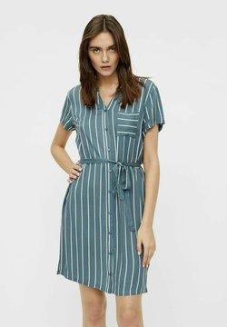 Object - BIRDY DRESS - Vestido camisero - blue mirage