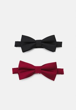 Pier One - 2 PACK - Papillon - black/dark red