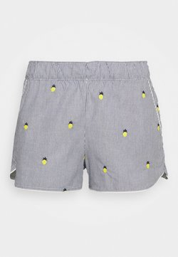 GAP - SUM POPLIN SHORT - Shorts - light blue/yellow