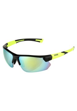 Uvex - SPORTSTYLE 221 - Sportbrille - black mat yellow
