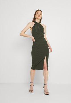 WAL G. - JAYNE LEE HALTER NECK DRESS - Cocktailkleid/festliches Kleid - khaki