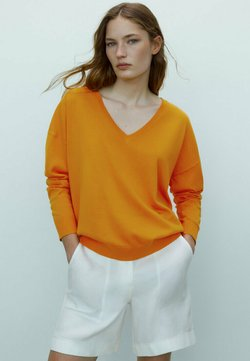 Massimo Dutti - Bluza - orange