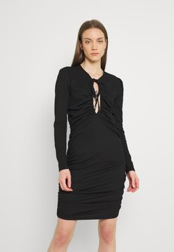Nly by Nelly - GORGEOUS KEYHOLE DRESS - Cocktailkleid/festliches Kleid - black