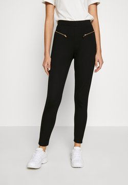 Even&Odd - ZIP PUNTO LEGGINGS - Legging - black