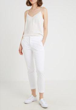 Lauren Ralph Lauren - LYCETTE PANT - Spodnie materiałowe - white