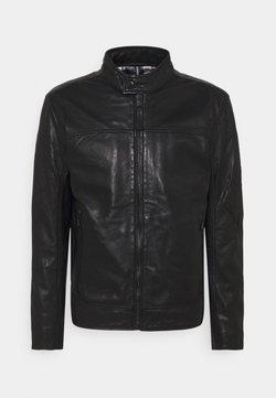 JOOP! Jeans - CLEARY - Leren jas - black