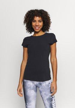Nike Performance - LUXE - Camiseta básica - black/dark smoke grey