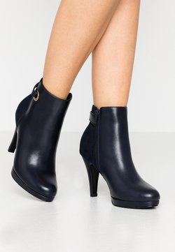 Anna Field - High heeled ankle boots - dark blue
