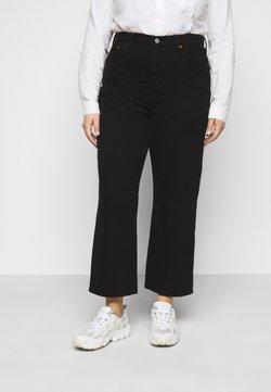 Levi's® Plus - RIBCAGE STRAIGHT - Jeans straight leg - black heart