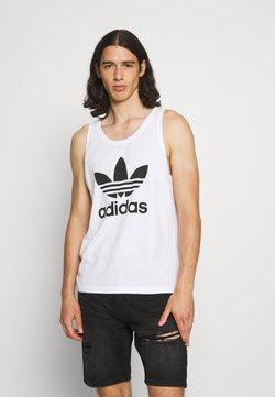 adidas Originals - TREFOIL TANK UNISEX - Top - white/black